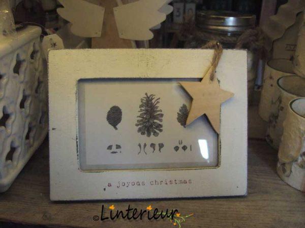 Fotolijstje kerst