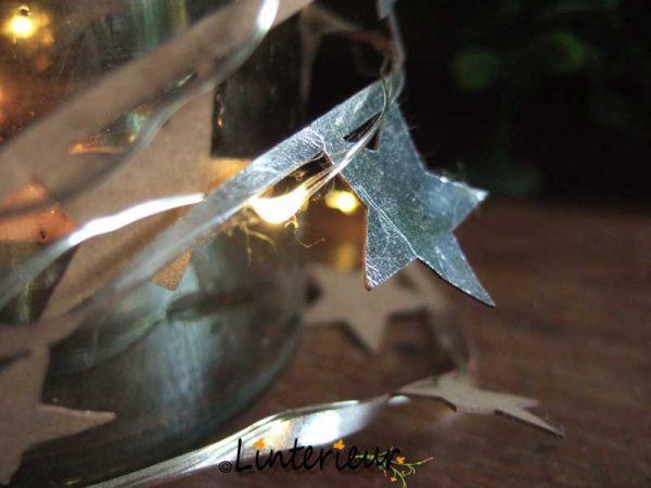 Led slinger met ster 1
