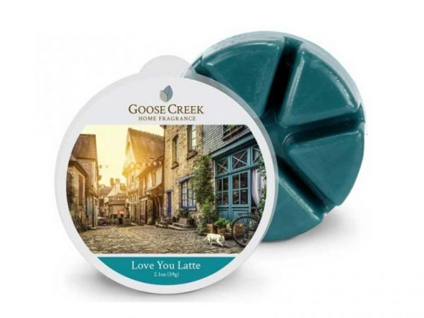 Goose creek love you latte wax melts