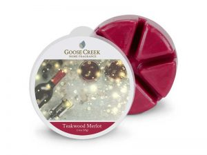 Goose creek Teakwood merlot wax melts