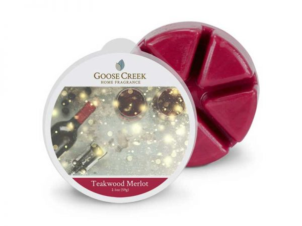 Goose creek Teakwood merlot wax melts