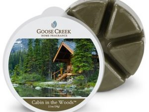 Goose creek Cabin in the Woods wax melts