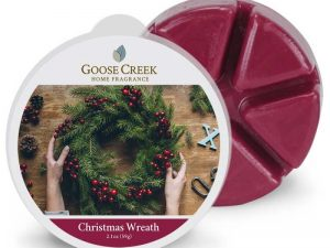 Goose creek christmas wreath wax melts
