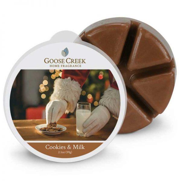 Goose creek cookies and milk wax melts