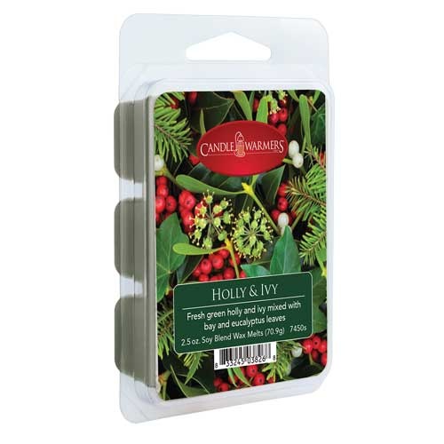 Candle Warmers wax melts HOLLY & IVY 70g