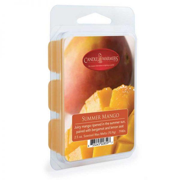 Candle Warmers wax melts Summer mango 70g