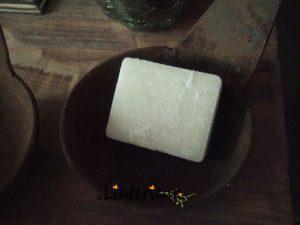 Amberblokje cashmere