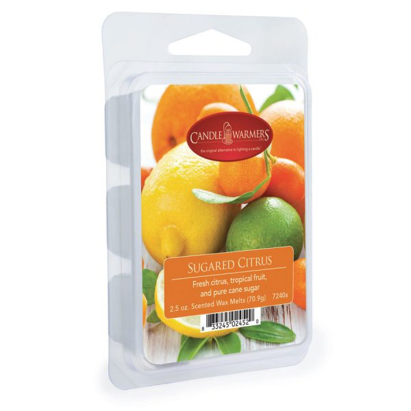 Candle Warmers wax melts sugared citrus 70g