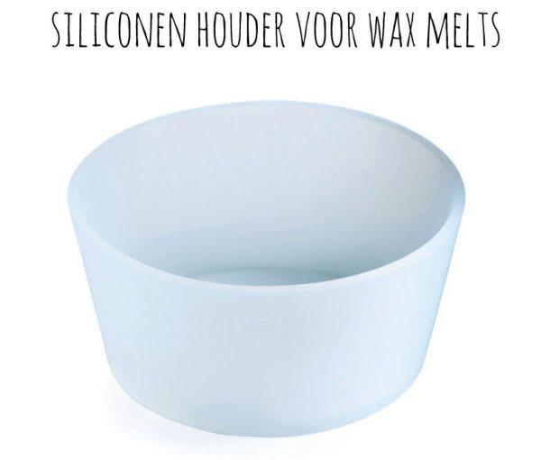 Siliconen houder voor wax melts