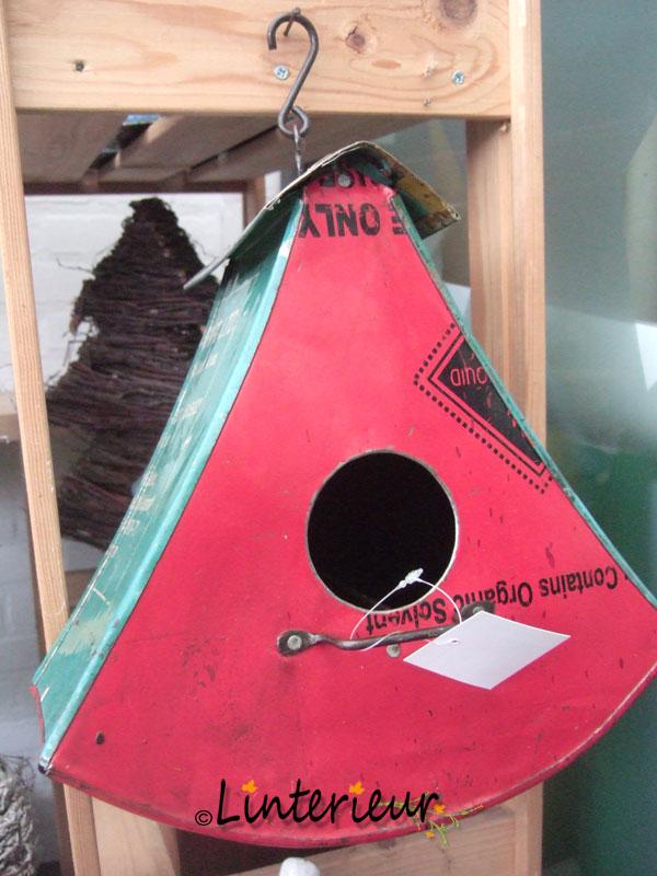 vogelhuis ijzer driehoek