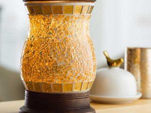 Candle Warmers elektrische geurbrander Illumination goud
