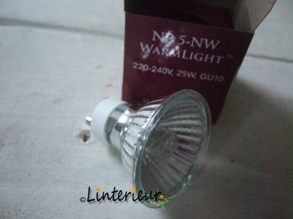 Halogeen 25 watt lampje