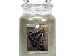 Goose creek burlwood & oak 24oz Candle Jar